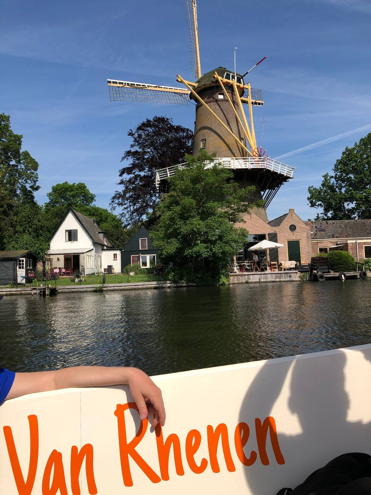 Sloep varen in gelderland